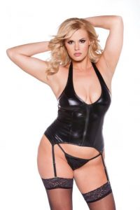 Kitten Sexy Corset Black Queen