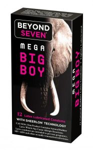 Beyond Seven Mega Big Boy Condoms 12 Pack