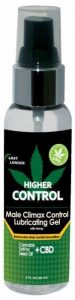 Higher Control Male Climax Control Gel Hemp Seed Oil 2oz