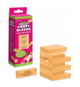 Bride To Be Party Blocks Game