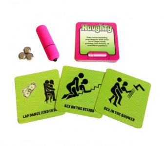 Naughty Vibrations Game with Bullet Vibrator