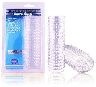5.5 Inch Jelly Stroke Sleeve Clear