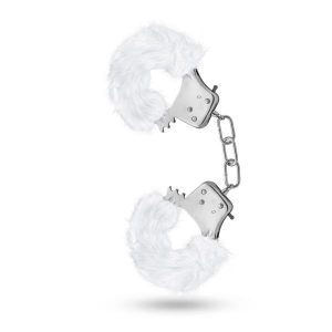 Temptasia Plush Fur Cuffs White Handcuffs