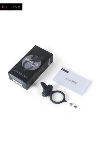 Bcharmed Classic Black Vibrating Ring
