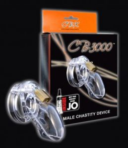 Cb-3000 Male Chastity Device 3 inch Clear Cock Cage