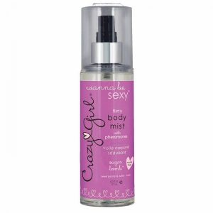 Crazy Girl Sexy Flirty Pheromone Body Mist Sugar Bomb 6oz