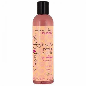 Crazy Girl Kissable Passion Bubbles Vanilla Mint 8oz