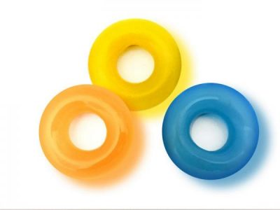 Rascal Toys The D-Ring Glow X3 3 Piece Donut Kit