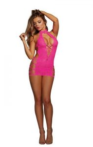 Chemise O/S Hot Pink