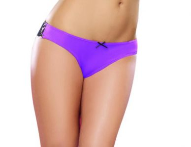 Cheeky Panty Small Iris Black