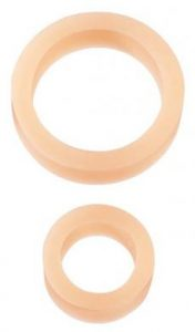 The C Rings Beige