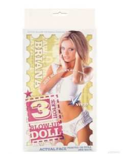 Vivid Superstar 3 Hole Doll With Actual Face Briana
