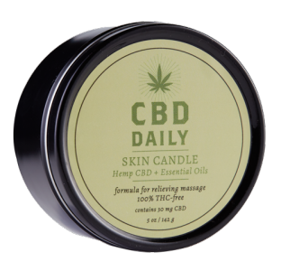 Earthly Body CBD Daily Skin Candle 5oz