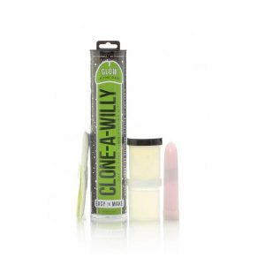 Clone A Willy Kit Vibrating Dildo Mold - Glow In The Dark