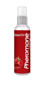 Pheromone Massage Oil Strawberry 4oz