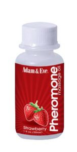 Pherormone Massage Oil Strawberry 1oz