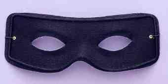 Masked Man Black