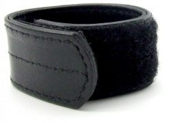 H2H Ball Stretcher Leather Velcro 1 inch Black