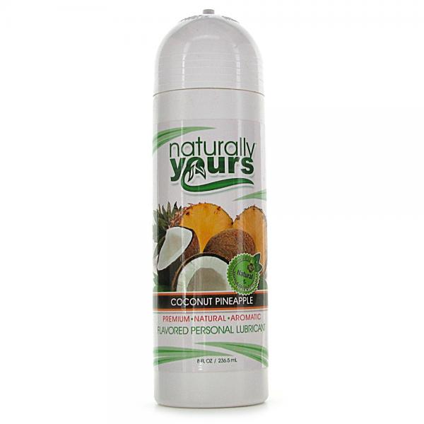 Naturally Yours Coconut Pineapple 8oz