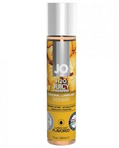 System JO H2O Flavored Lubricant Pineapple 1oz