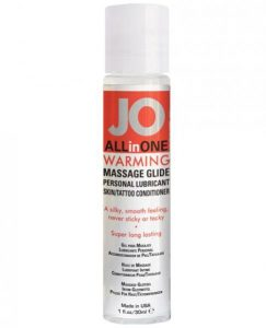 JO All In One Massage Glide Warming 1oz