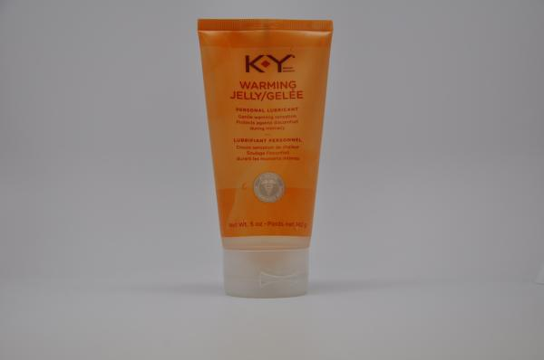 K-Y Warming Jelly Lubricant 5oz Tube