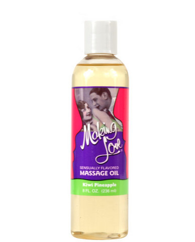 Making Love Massage Oil - Kiwi/Pineapple