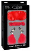 Fetish Fantasy Lover's Bondage Kit Red