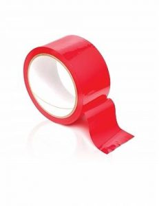 Fantasy Bondage Tape - Red