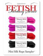 Fetish Fantasy Series Mini Silk Rope Sampler