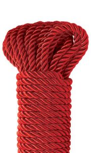 Fetish Fantasy Series Deluxe Silky Rope Red 32ft