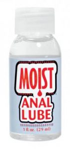 Moist Anal Lube 1 oz