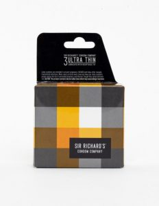 Sir Richard's Ultra Thin 3 Pack Latex Condoms