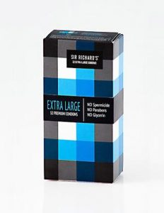 Sir Richard's Extra Large Latex Condoms 12 Pack