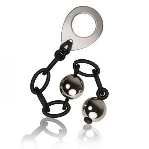 Love In Chains Weighted Steel Balls Black
