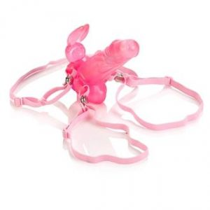 Waterproof Wireless Bunny Vibrator Pink