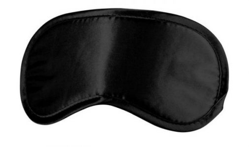 Ouch Soft Eyemask Black O/S