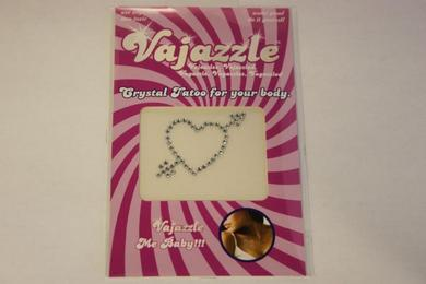 Vajazzle Heart W/Arrow