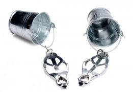 Jugs Nipple Clamps With Buckets Stainless Steel