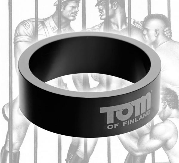 Tom Of Finland Aluminum Cock Ring 1.96 inches